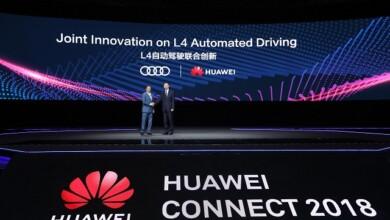 شركة هواوي تدخل في شراكة مع أودي لتطوير السيارات ذاتية القيادة